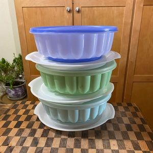 TUPPERWARE JELLO MOLD RINGS PRICE IS EACH